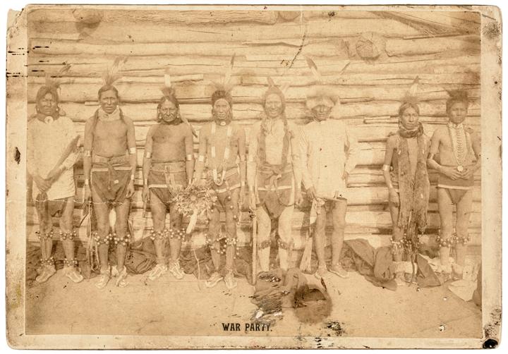 15-apr-26 c1880-1910 Dakota Territory Native American Sioux Indian Photograph by David Frank Barry 1