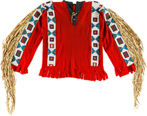 15-oct-25 A Plains Beaded Cloth Shirt 1