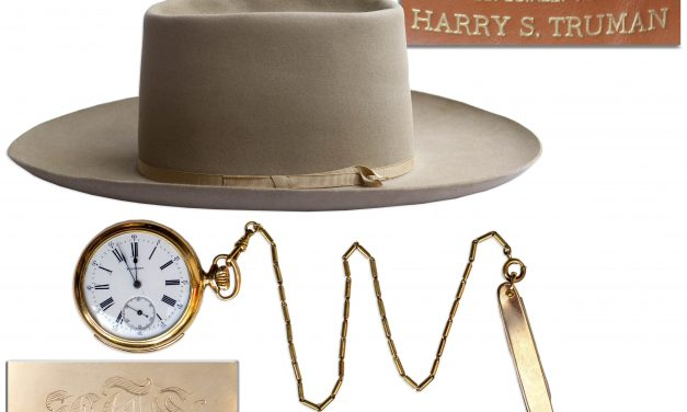 President Harry Truman's Stetson, Watch, and Pocket Knife Lot