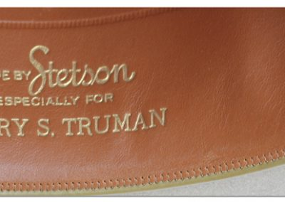 Harry-Truman-Stetson-Hat-band